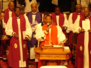 Bishop Charles E. Blake Eulogy of Bishop Walker