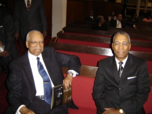 Dr. Bennie Reaves and Wm. C. Scales Jr.
